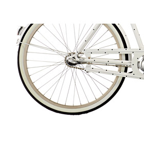 "Creme Molly Chic Stadsfiets 26"" 3-speed wit"